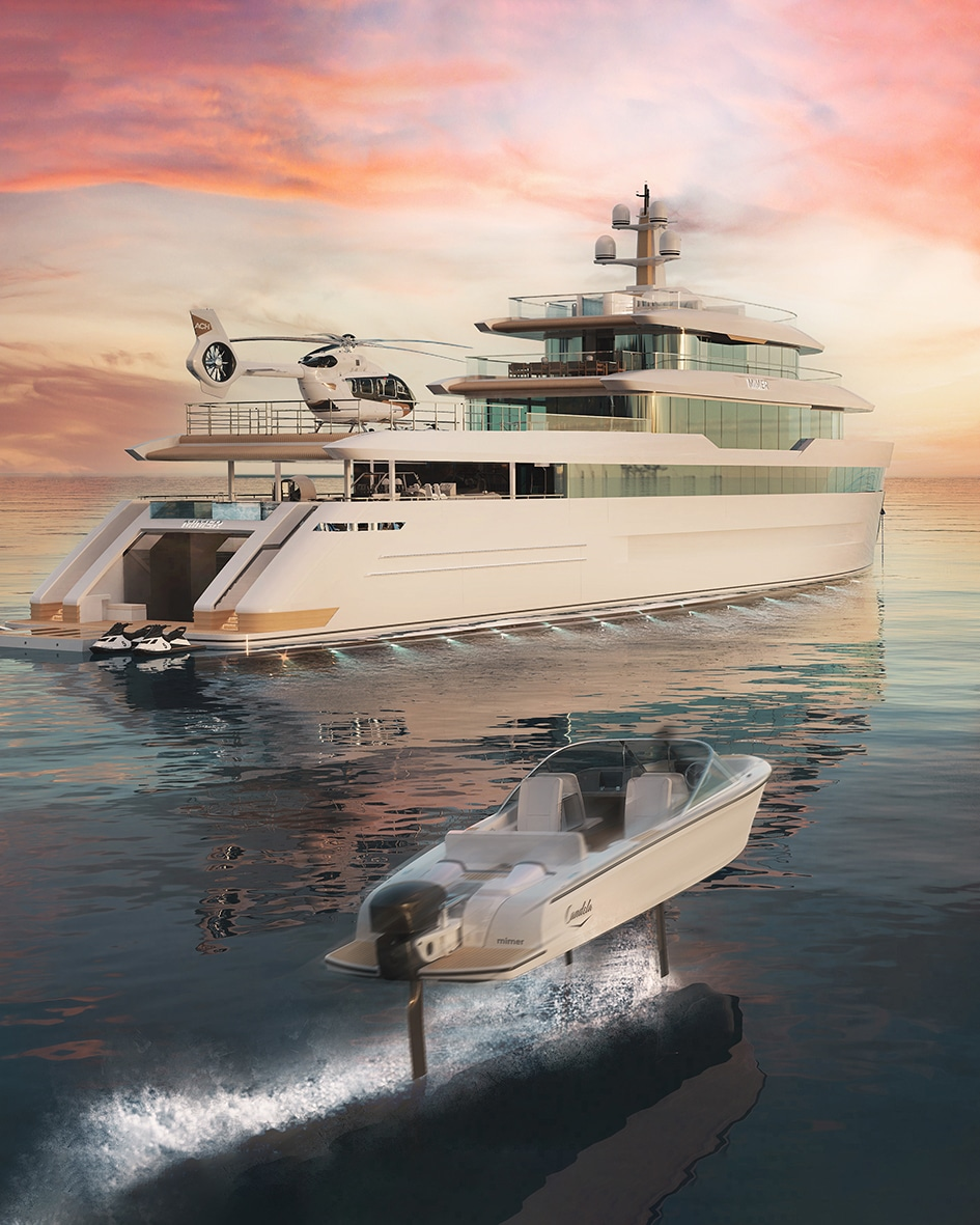TDoS new Explorer Yacht Mimer is the perfect combination between function and beauty   (September 2021)